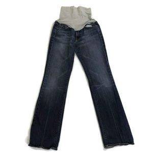 7 for all Mankind Maternity Jeans Bootcut Size 30